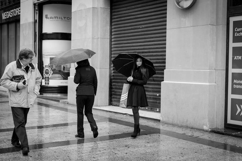 Casque les yeux | Champs-Élysées, Paris, 15/10/2014