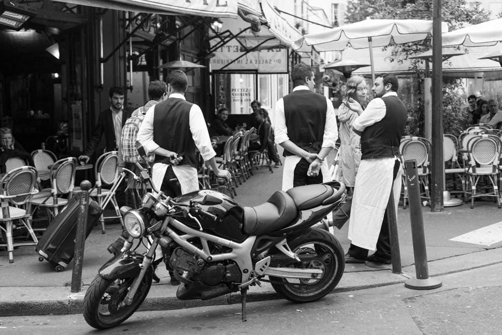 La rue avec quelneurs | Saint-Germain-des-Prés, Paris, 16/10/2014